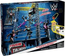 WWE Wrestling Tough Talkers Championship Takedown Ring 6-Inch Playset