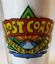One (1) Lost Coast Brewery LOGO Brewed Fresh in the Humboldt Nation Beer glass
