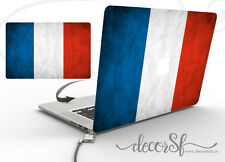 France Flag Design Vinyl Wrap Skin Sticker for Macbook 13 Laptop Cover Decal
