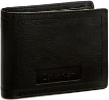 Portafoglio Uomo Marrone Calvin Klein Wallet Men Brown Stone 5cc Coin Pocket