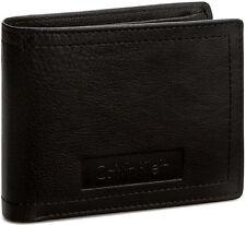 Portafoglio Uomo Marrone Calvin Klein Wallet Men Brown  Stone 5CC + Coin Pocket
