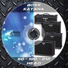 216 Patches BOSS KATANA 50-100-212-HEAD Custom Tone Preset