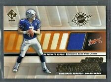 Jon Kitna 2001 Pacific Private Stock Game Worn Jersey Relic #32 Seahawks Bengals
