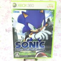 USED Xbox360 Sonic the Hedgehog 81047 JAPAN IMPORT