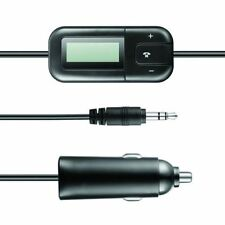 Maplin Universal LCD Display FM Transmitter Telephone Call Compatible in Black