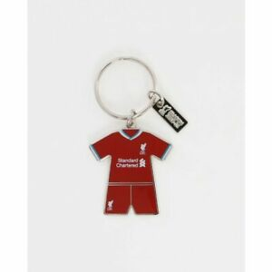 LIVERPOOL FC OFFICIAL LFC HOME KIT 2020/21 KEYRING BNWT Show your support!