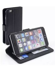 iPhone 6 Plus Comfort Cave Leather Wallet Case in Black New Sealed