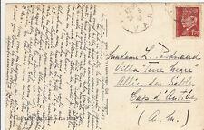Cartes postales timbrées timbres état français 1942-1943 Maréchal PETAIN 14