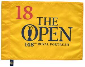 2019 OFFICIAL (Royal Portrush) BRITISH OPEN Golf FLAG