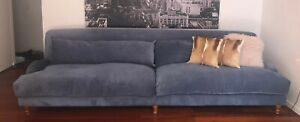 SCOUT HOUSE SOFA | 'Ink' Warwick Fabric - gorgeous comfy 4+ seater - 3m RRP$3900