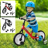 Kids Balance Training Bike Toy w/ Stabilizers Suitable For Child 2-5 Years