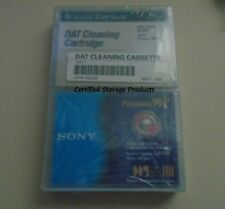 NEW Sony 90m DDS-1 DGD90P 4mm 2GB/4GB Data & Seagate DAT Cleaning Cartridge KIT