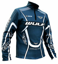 Wulfsport stratos air force grey trials comp top size small motocross motorbike