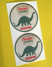 HOT ROD Retro worn 'SINCLAIR DINO' vintage GAS AND OIL Sticker Decal Chevy