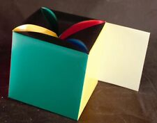Six (6) Hallmark Colorful Fold up Top Gift Boxes
