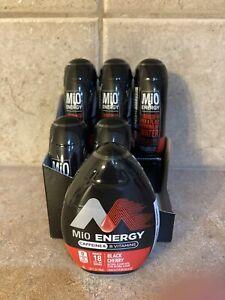 MIO Energy Water Enhancer Black Cherry Caffeine B Vitamins BB Dec 10 2020 X 6