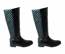 Women's Textured Synthetic Boots