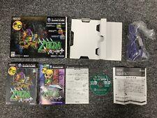 NTSC/J Zelda Four Swords Adventures + Big Box Version w/Cable Gamecube Japanese
