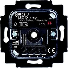 Busch-Jäger LED Dimmer 6523u-102 UP REDUCTOR Giro