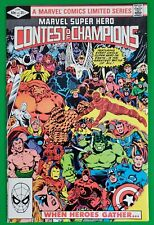 Marvel Super Hero Contest of Champions # 1 Marvel 1982 1st Marvel Limited Series
