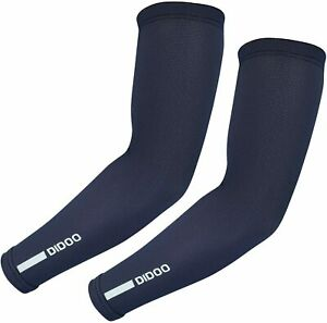 Didoo Cycling Arm Sleeves Compression Warmers Stretch Muscle Support For Hands