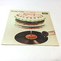 The Rolling Stones 'Let It Bleed' Rare Netherlands Silver Labels Vinyl LP G+/VG