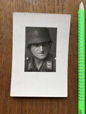 Steel Helmet Original Photo Wehrmacht