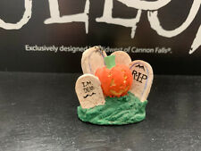 Midwest Cannon Falls Creepy Hollow *Rare* Pumpkin Patch Headstones
