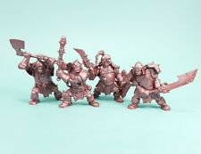 Mountain orcs. Soft Plastic Tehnolog 54 mm Set of 4 toy soldier