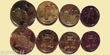 ZAMBIA set of 4 coins UNC #S9