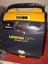 """*NIB* AED """"PHYSIO CONTROL - LIFEPAK CR PLUS"""" FULLY AUTOMATIC w/ACCESSORIES"""