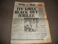 Daily Mail Newspaper June 4 1977 Royal Jubilee Queen