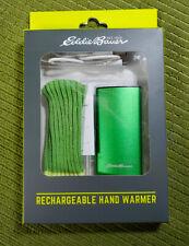 EDDIE BAUER USB Rechargeable Hand Warmer - Gift - Glovebox - Winter - Pocket