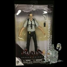 Batman ARKHAM KNIGHT Series 2 COMMISSIONER GORDON Action FIgure DC Comics!