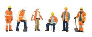 Bachmann - Scenescapes™ Working People -- Maintenance Workers, pkg(6) - O