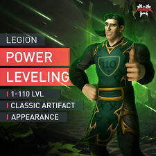 WoW 1-110 Powerleveling Deutsche IP Adresse Level Boost World of Warcraft