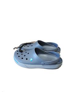 Crocs Crocband II Clog  Slides Slip On Gray or Red