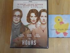 THE HOURS DVD Widescreen 2002 Nicole Kidman Meryl Streep Julianne Moore