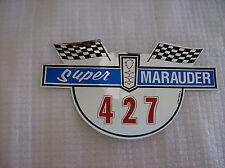 1965 - 1966 FORD MERCURY SUPER MARAUDER 427AIR CLEANER DECAL