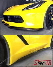 Carbon Fiber Z51 Side Skirt W/ Stage 2 Front Lower Lip For 14-Up Corvette C7