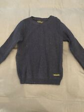 Finger in the Nose | Navy Blue | Wool Cardigan | Boys | Age 8-9