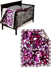 Missoni Target Crib Floral Bedding Set of 3 Blanket, Slip Cover, Crib Padding