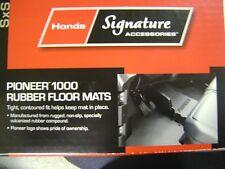 HONDA PIONEER RUBER FLOOR MATS 0SP63-HL4-101