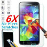 9H Tempered Glass Film Screen Protector Guard for Samsung Galaxy S4/S5/S6/S7 Lot