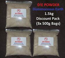 D! E Poudre Terre de Diatomées 1.5 kg Disque. Pack De Volaille vers/redmite/PUCES/Poux