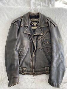 Perfecto Redskins Motors Riders Norton Hot Rod Bsa Schott Harley Vintage