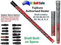Fujikura Vista Pro Shaft 45,55,60,65,75 R3 R2 R S X+Adaptor Tip - Built to Spec