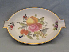 HEREND FRUIT AND FLOWERS 7784 BFR ASH TRAY Kathleen Blatz Hollywood Estate