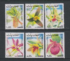 Afghanistan - 1999 Flowers set - MNH