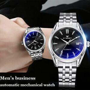 Men Luxury Watch Date Waterproof Automatic Mechanical Fashion Wristwatch Gift